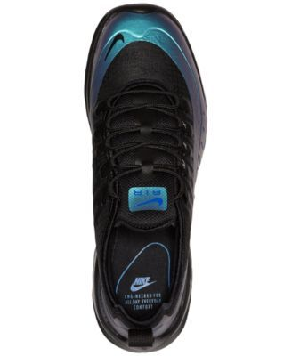 on sale 802c6 d21cb Nike Men s Air Max Axis Premium Casual Sneakers from Finish Line - Black  10.5