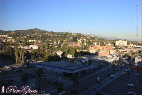 View From The W Hotel Hollywood With Griffith Observatory 6250