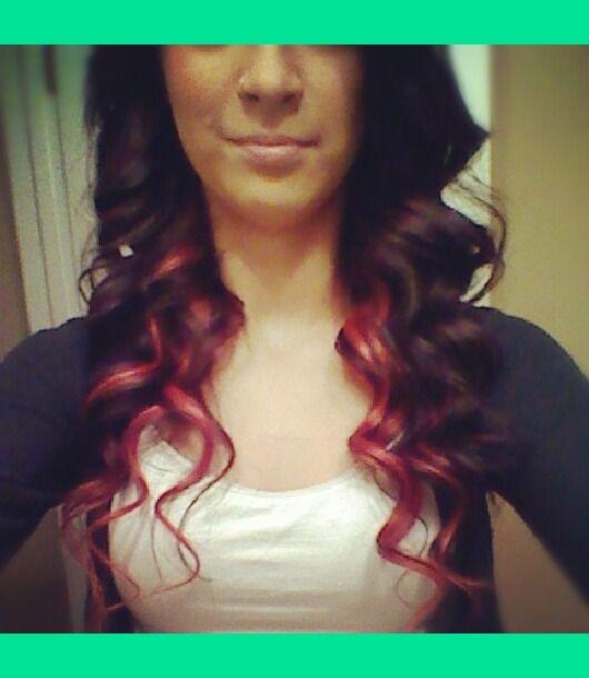 Red peek a boo hair under brown hair pinterest brown red red peek a boo hair under brown pmusecretfo Gallery