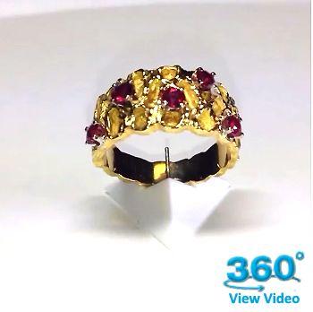 Ruby Dress Ring - Diamond Imports