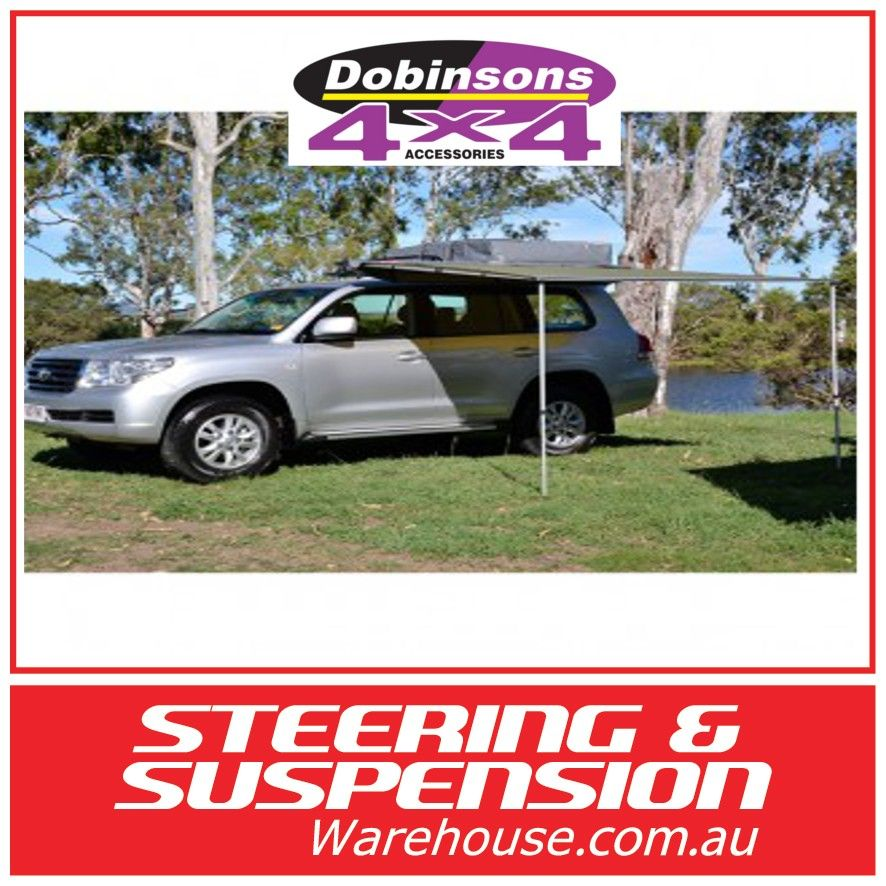 Dobinson Roll Out Awning 2.5 metres x 2.0 m Steering