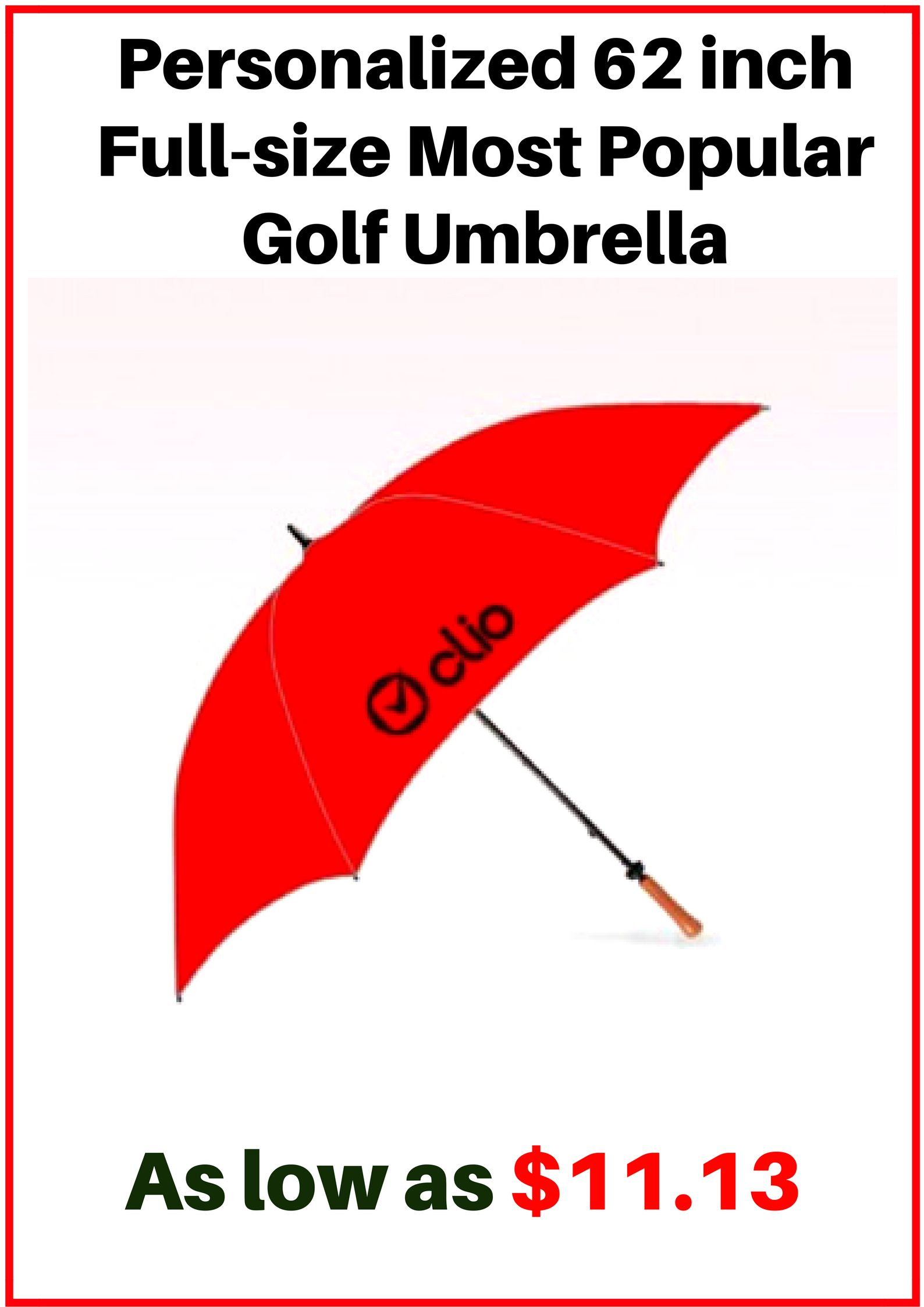 0db7380e1d470 Powerful promotional giveaways to get your brand noticed in the crowd !  #golf #logo #freesetup #umbrellas