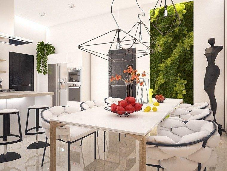 Vertikalen Garten anlegen - die Wand im Esszimmer bepflanzen ...