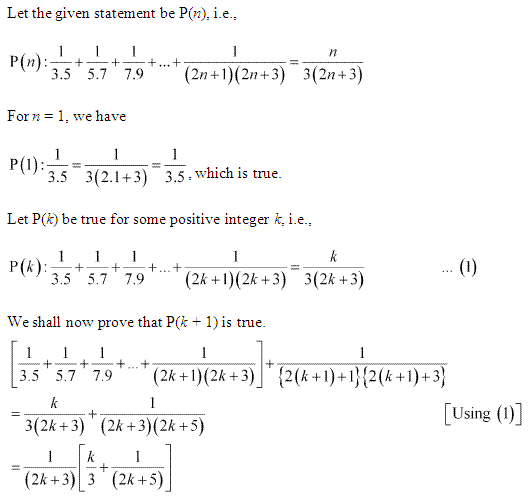 Ncert Solutions For Class 11 Maths Chapter 4 Principle Of Mathematical Induction Mathematical Induction Studying Math Maths Solutions