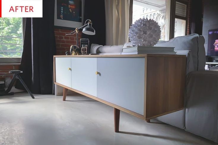 Credenza Rattan Ikea : This is the best ikea bestÅ hack weve seen in ages mid century