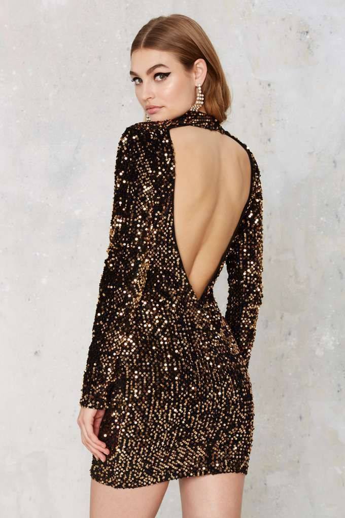 Mirage Sequin Mini Dress - Clothes | All Things Glitter | All ...