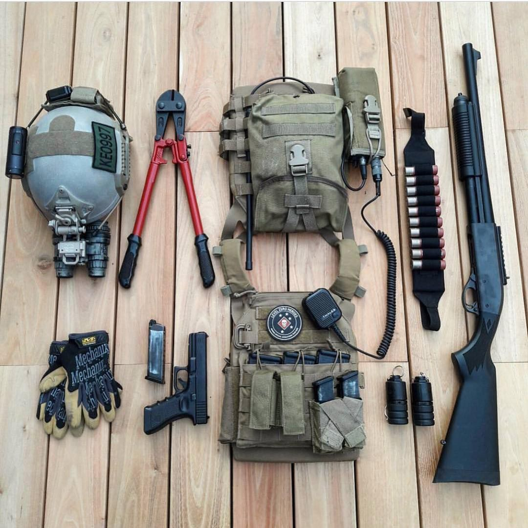 Pin by Marc Chesley on Kits | Tactical gear survival, Combat