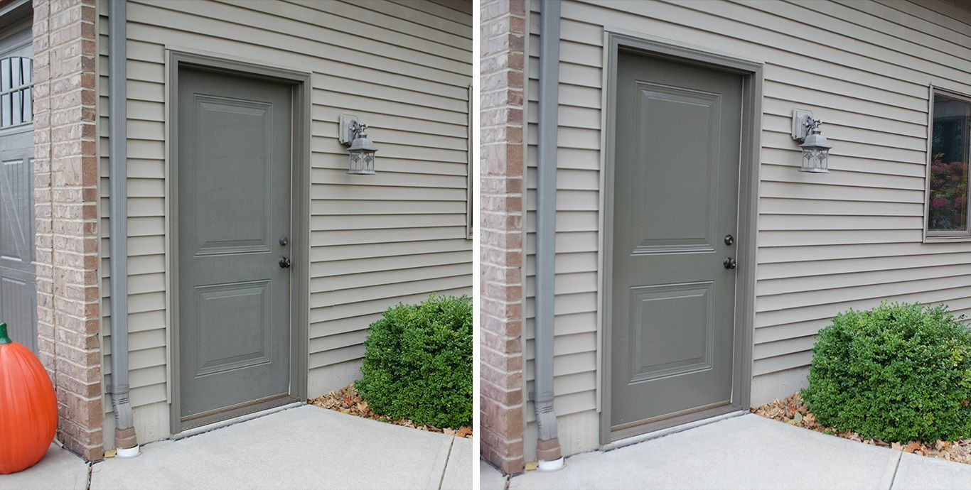 Make your entry doors and vinyl siding panels look brand new all