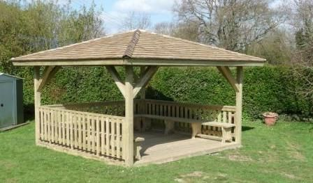 wooden shingle roof pergola - Google Search