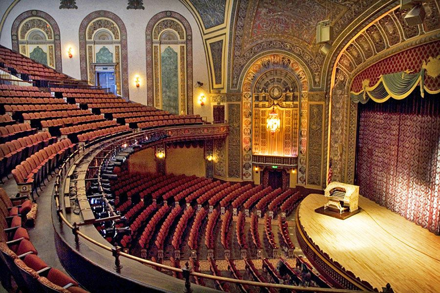 14 Historic American Theaters Historic Theater Theater Architecture Architecture