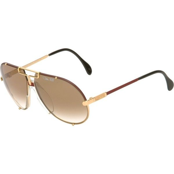 c238d83ad4da60 CAZAL VINTAGE aviator style sunglasses ( 445) ❤ liked on Polyvore ...