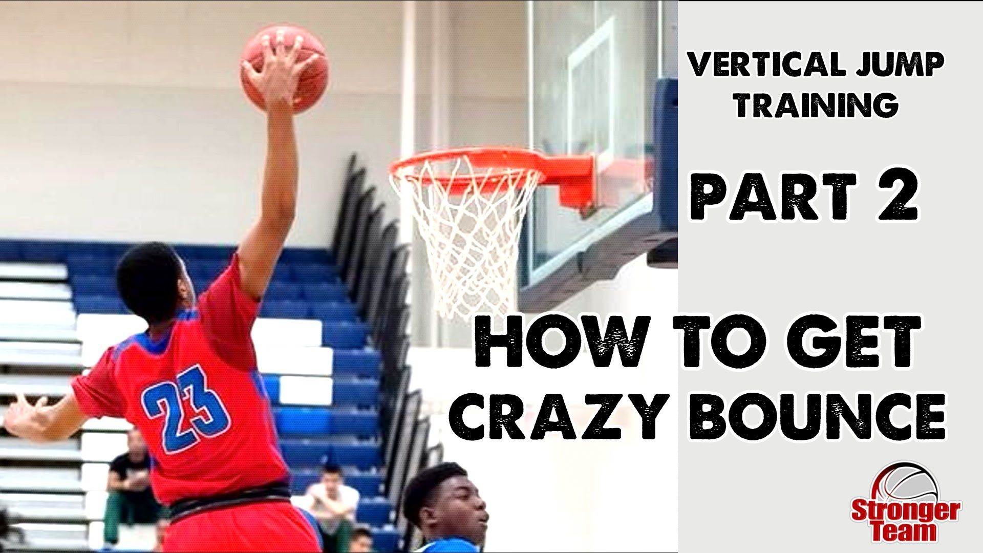 How to Get a Crazy Vertical Jump for Basketball Part 2