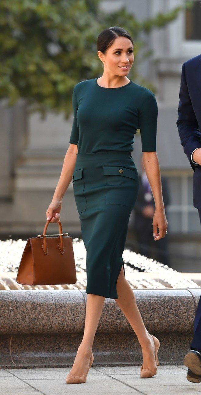 Photo of Meghan Markle en 4 looks pour son premier voyage officiel, à Dublin