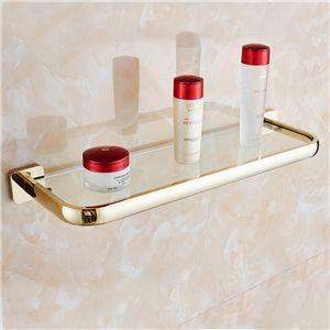 Style moderne simple Accessoires de salle de bain en cuivre Etagère ...