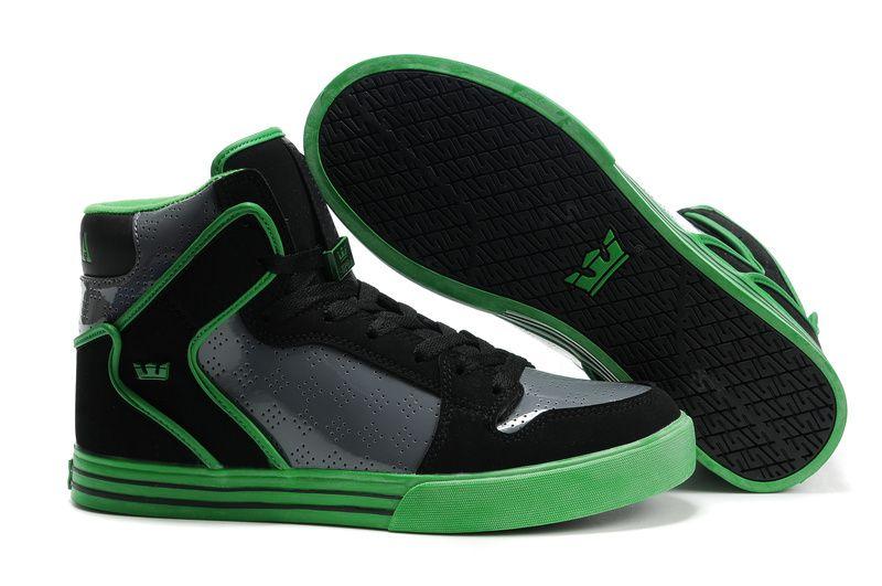 Supra Vaider-Black & Green