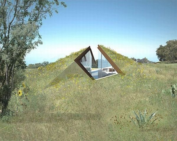 underground houses. underground house  How eco friendly are homes