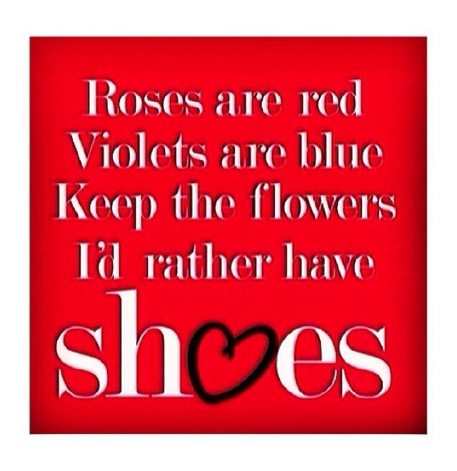 I'd rather have shoes!
