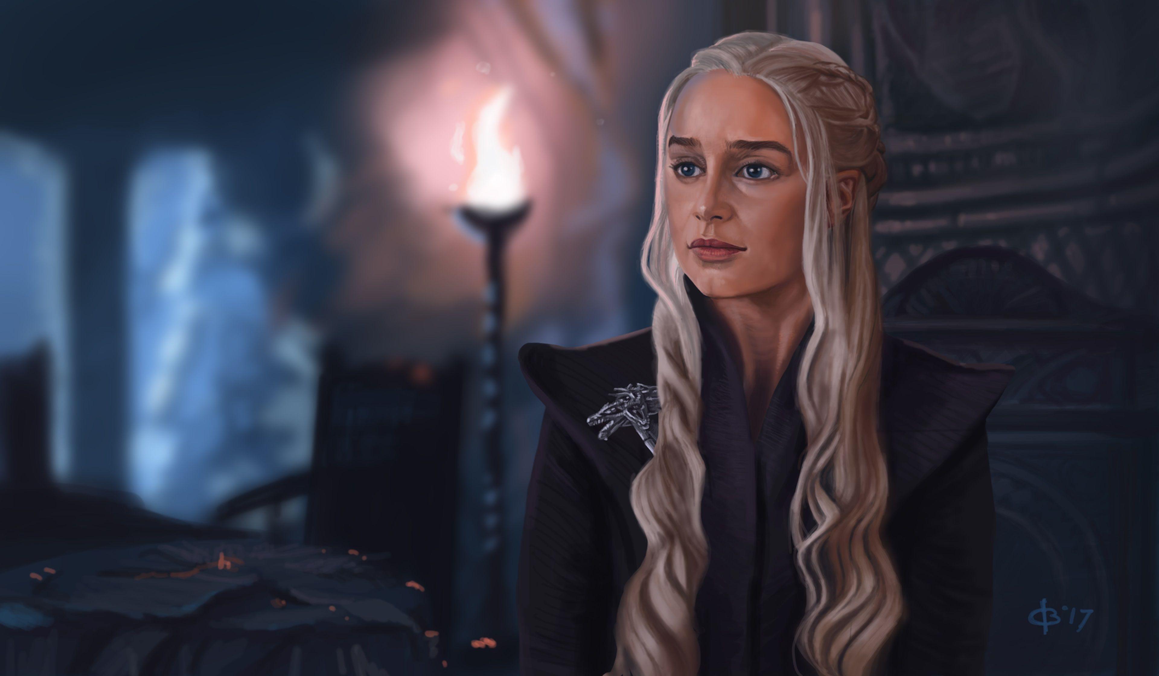 3840x2240 Daenerys Targaryen 4k Hq Desktop Wallpaper In 2019