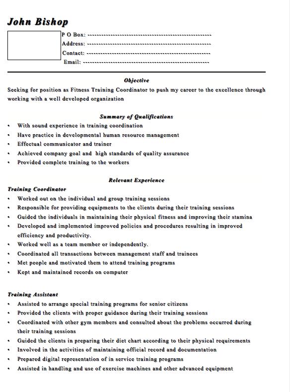 po box on resume