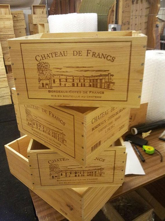 Traditional Wooden Wine Box With Sliding Lid Crate Storage Unit 6 Bottle Size Christmas Hamper Gift Box Wooden Wine Boxes Wine Box Crate Storage
