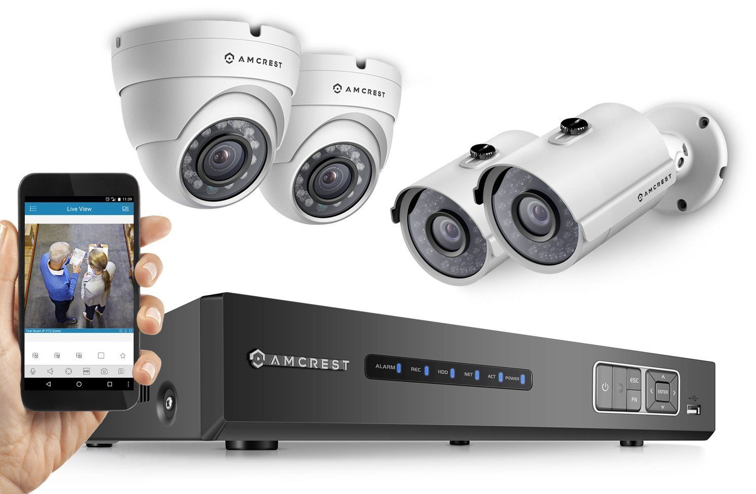 Top 10 Best Home Security Systems in 2016 Reviews | Electronics ...