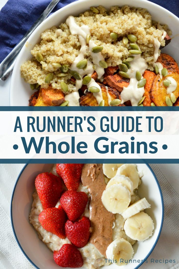 A Runner's Guide to Whole Grains #athletenutrition