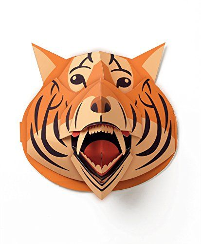 Djeco Pop Up 3d Paper Wall Decoration Tiger Click On The Image For Additional Details Pop Up Art Tiger Painting Animal Decor