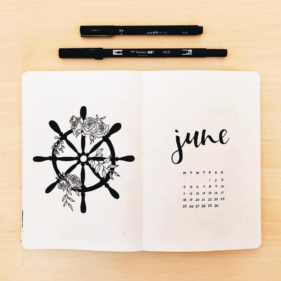 30 June Bullet Journal Setups - Fun Ideas To Try