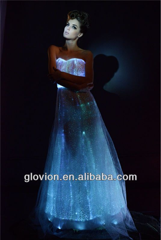 Luminous Glow In The Dark Formal Gown Fairytale Dress