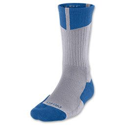bbd1c4c6 Men's Jordan Dri-FIT Crew Socks   FinishLine.com   Cement/True Blue ...