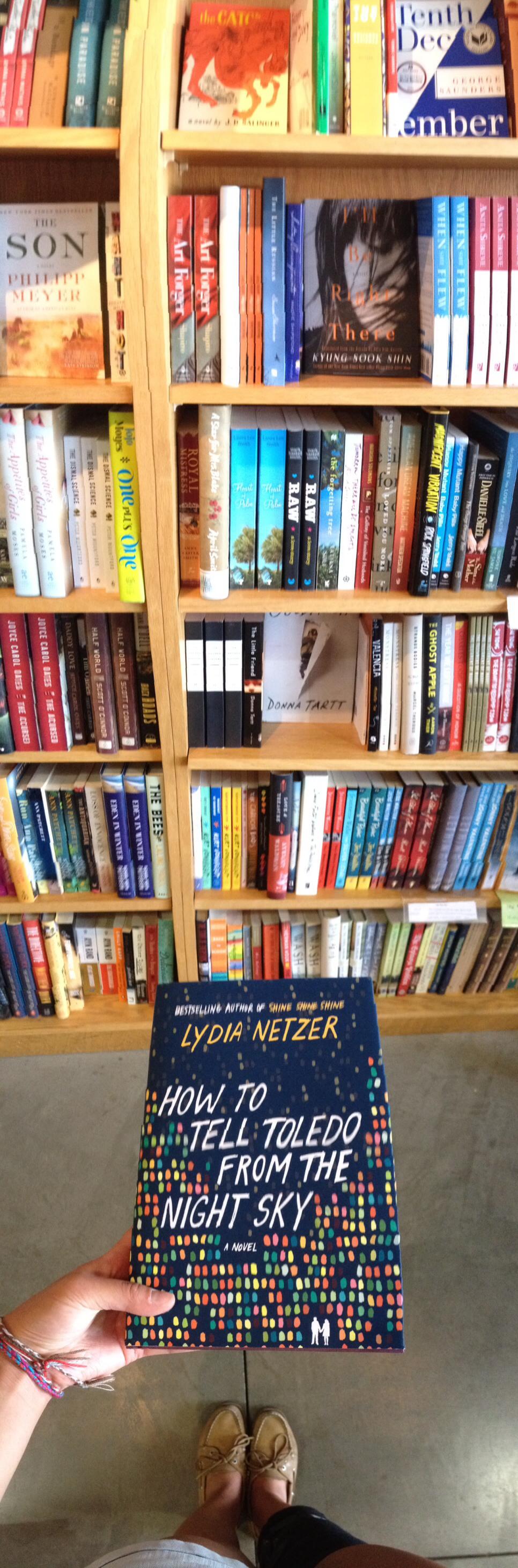 Visit a bookstore in SF