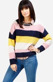 Pez Striped Sweater