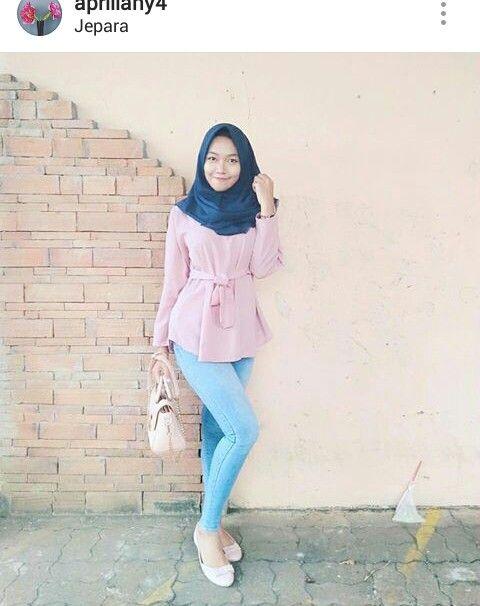 Pin Oleh Tudung Fashion Di Jilbab Comel