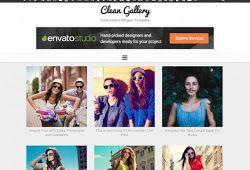 Clean Gallery Blogger Template Blogger Templates Blogger Blogspot Blogger