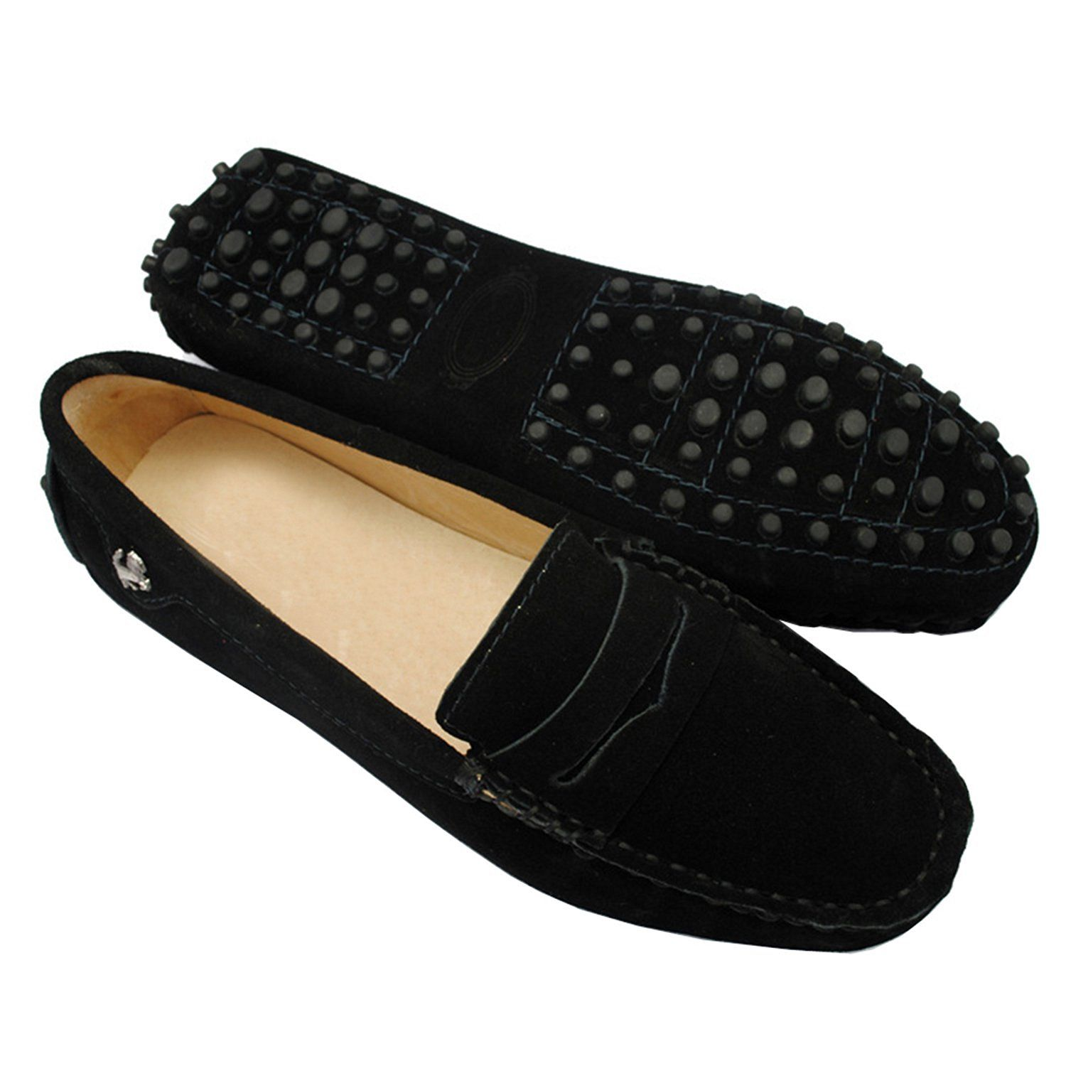 f2dd6bfde01 Minitoo Womens Casual Comfortable Suede Leather Driving Moccasins Loafers  Boat Shoes Flats -- Read more reviews of the product by visiting the link  on the ...