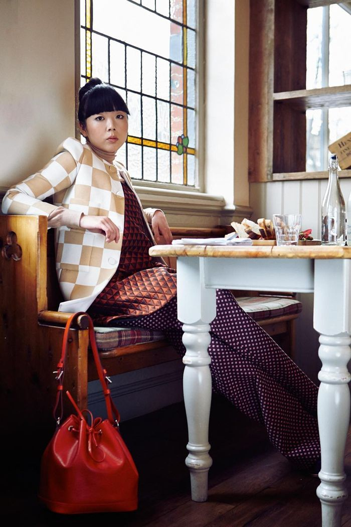 you know, all in Louis Vuitton. Susie Lau
