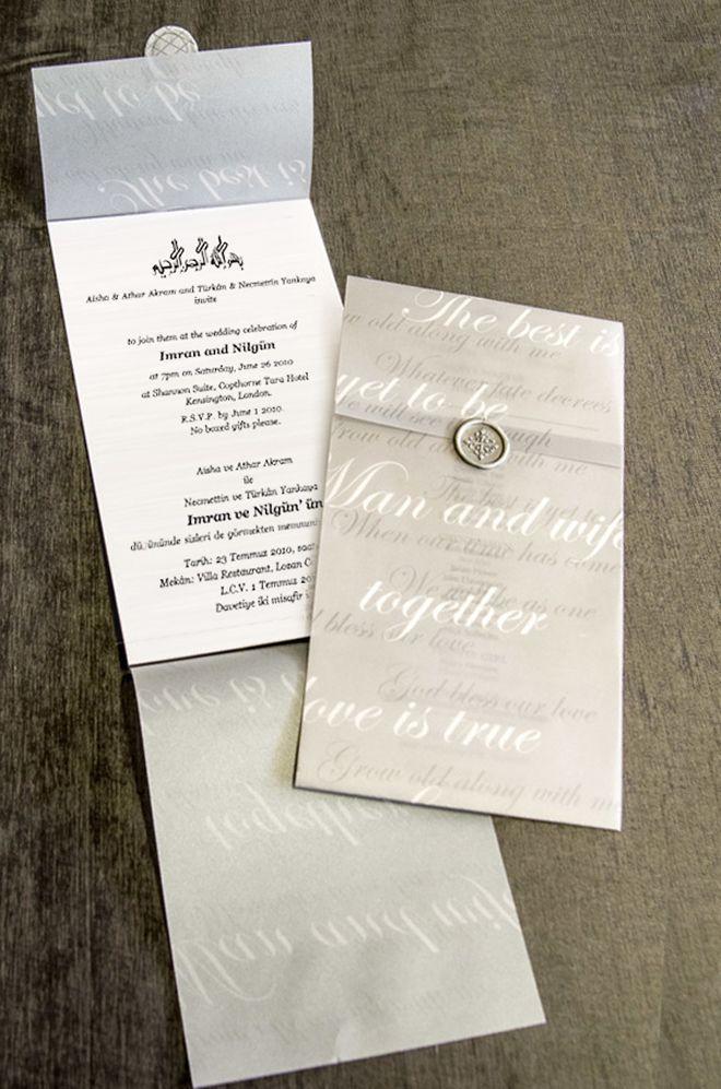 Contoh Desain Undangan Pernikahan Dengan Desain Islami Wedding
