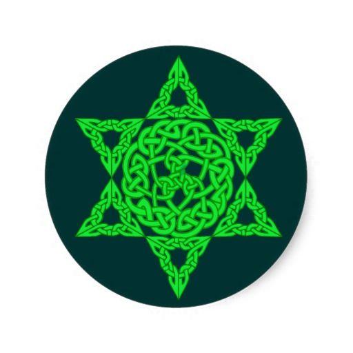 celtic star of david stickers star rh pinterest com Star of David Holocaust Bethleham Star Clip Art