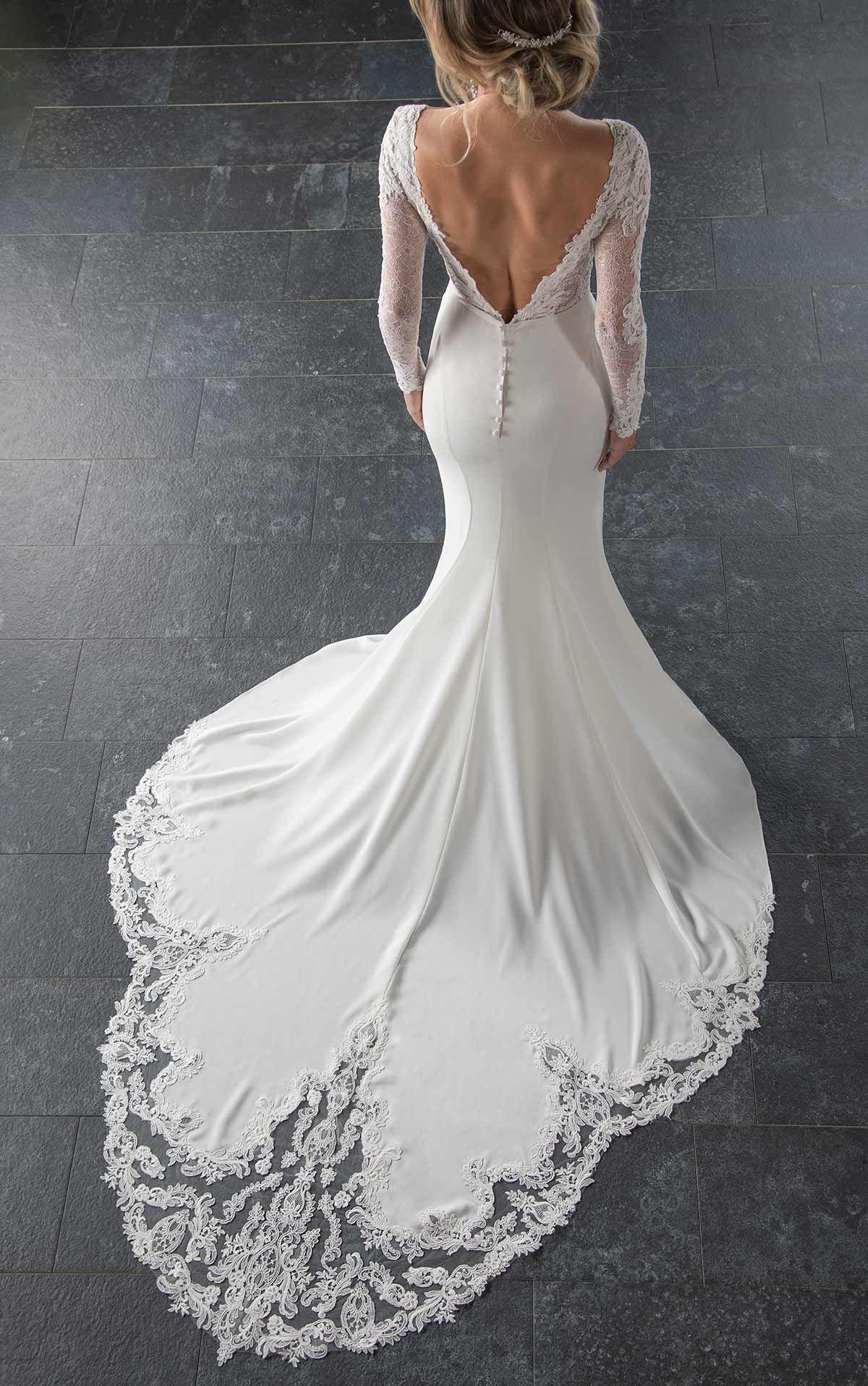 Stella York Elegance Bridal Wedding Dress Sleeves Trendy Wedding Dresses Long Wedding Dresses