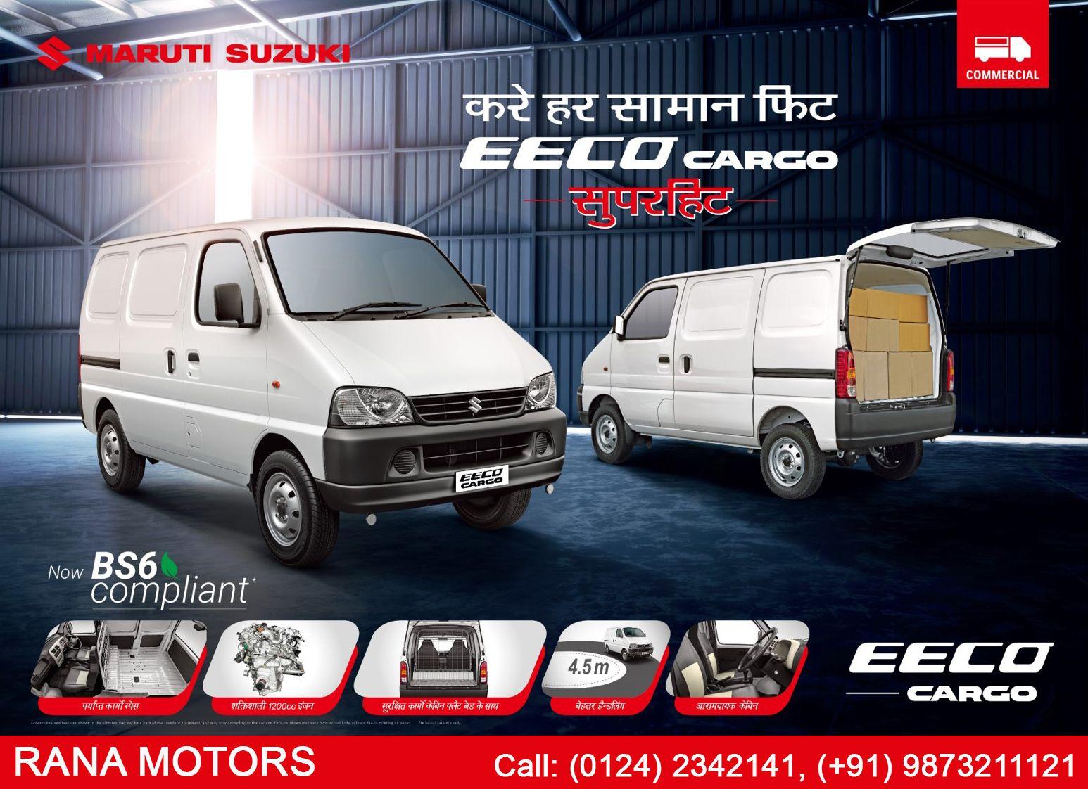 Maruti Suzuki Eeco Cargo In 2020 Cargo Vans For Sale Suzuki Van For Sale