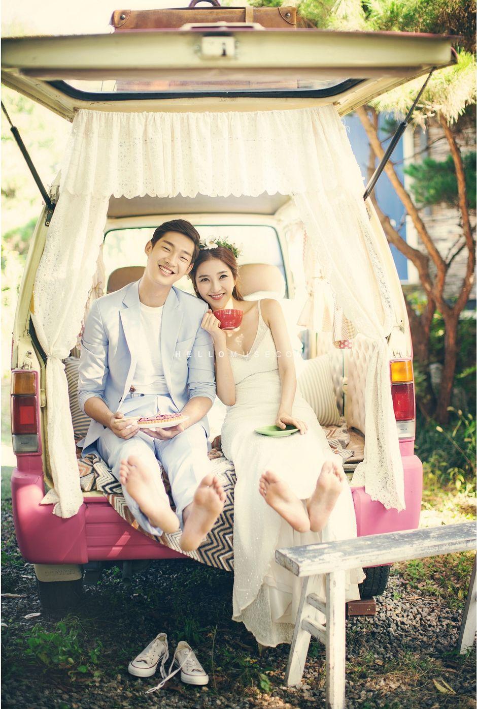 pre wedding photo shoot in Korea with