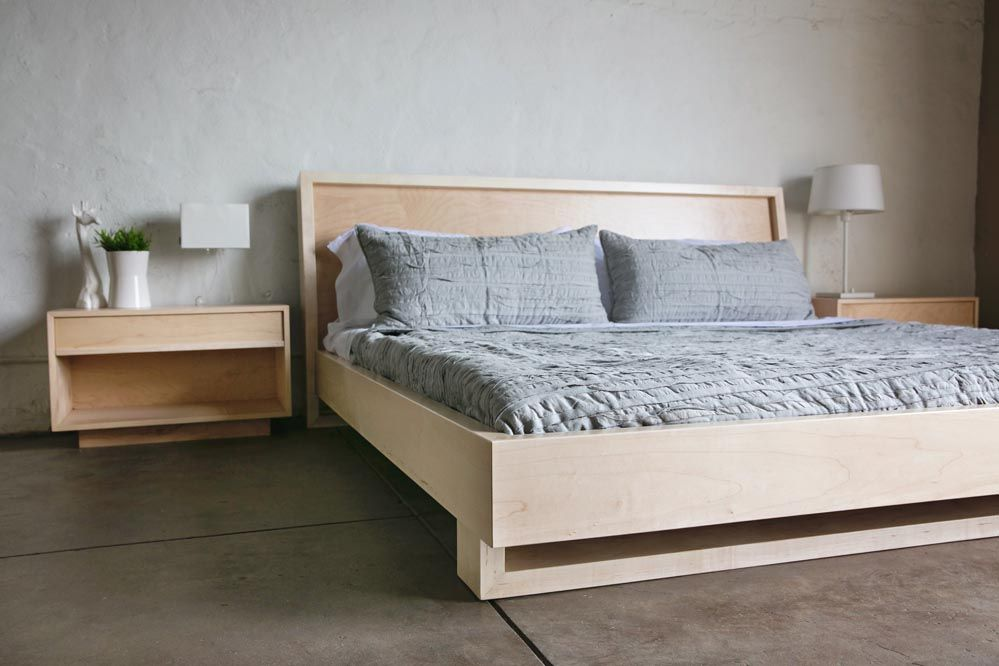 Maple Bed | Chris Wilhite | For the Home | Pinterest | Bedrooms and ...