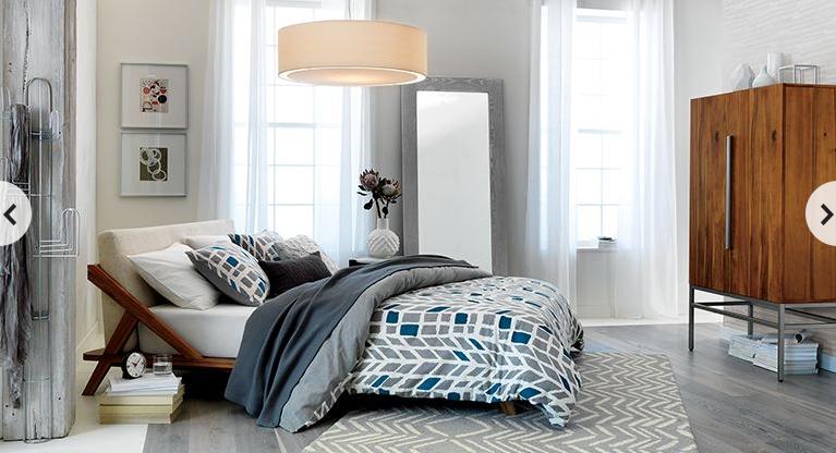 Best Cb2 Chevron Bedroom Drommen Wooden Bed Design Chevron 640 x 480