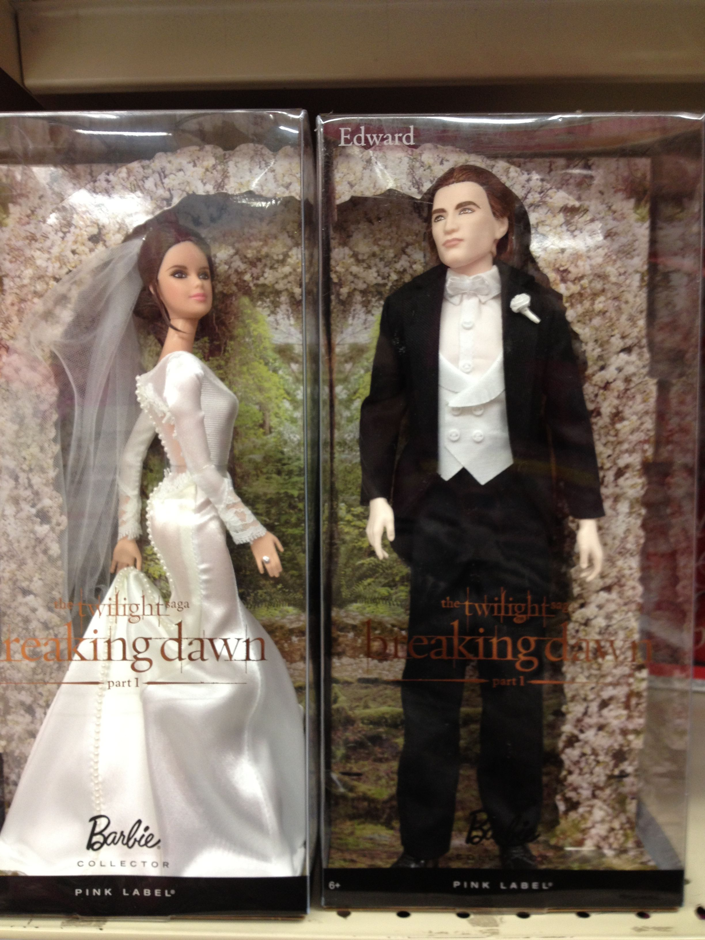 Edward and Bella dolls