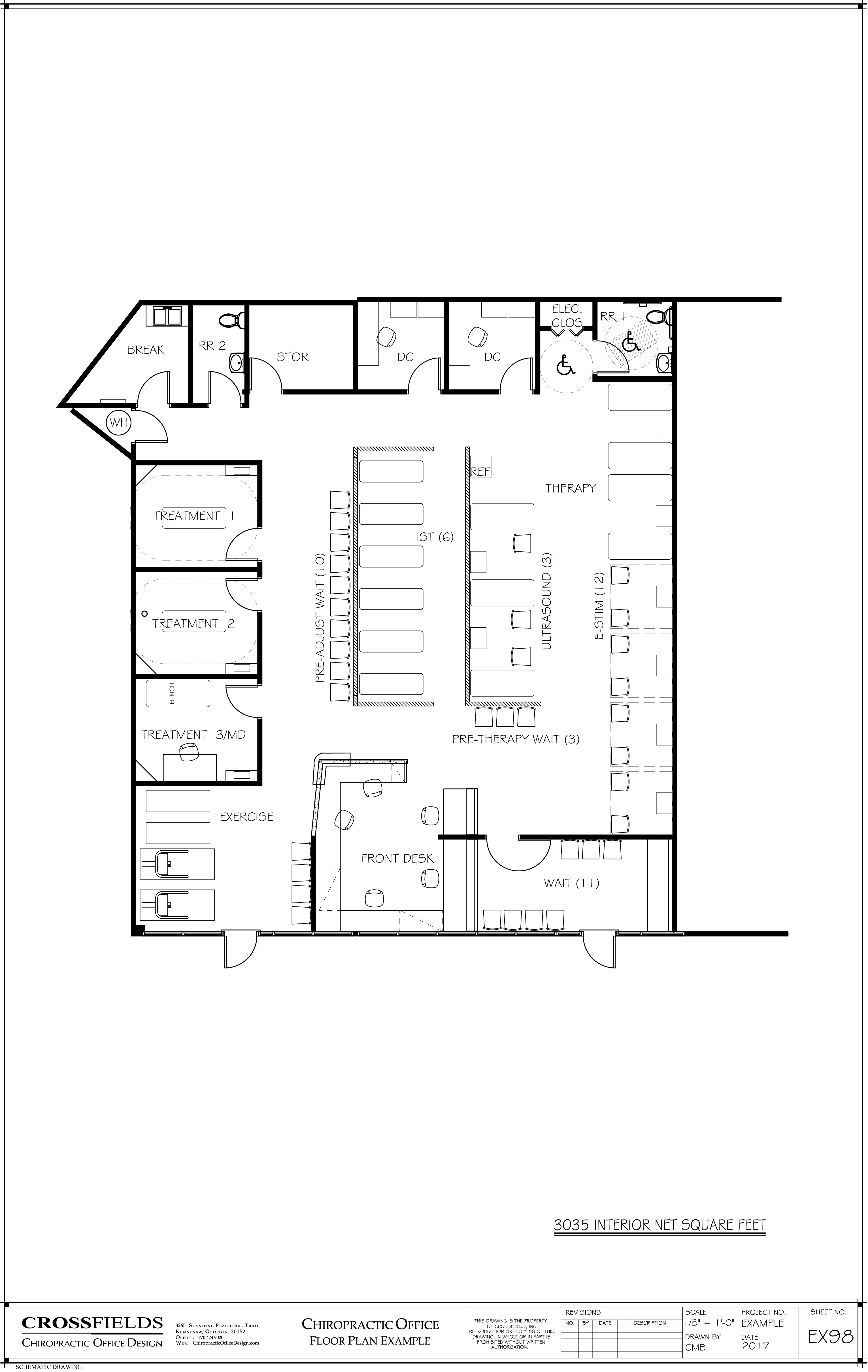 Chiropractic Office Floor Plans Versatile Medical Office Layouts Office Floor Plan Floor Plans Chiropractic Office