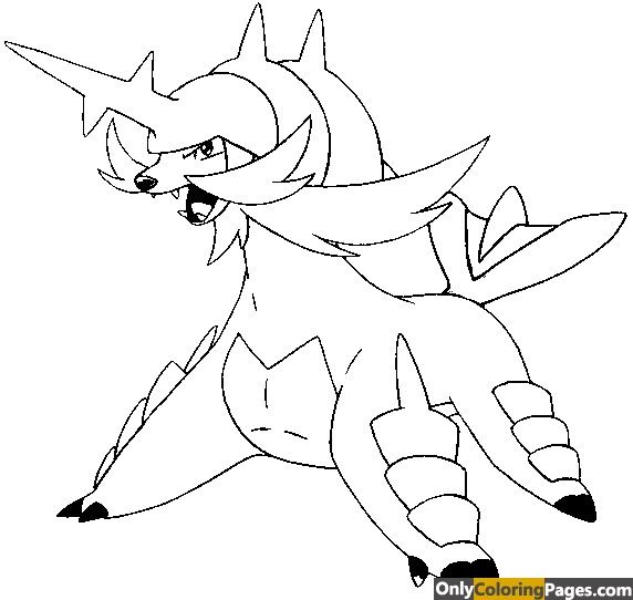 Samurott Coloring Pages Pokemon Coloring Pokemon Coloring Pages