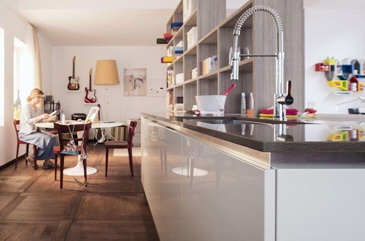 pingl par veneta cucine paris sur showroom veneta cucine paris pinterest cuisiner ensemble. Black Bedroom Furniture Sets. Home Design Ideas