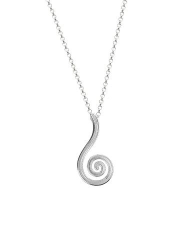 Look what I found on #zulily! Sterling Silver Newgrange Spiral Pendant Necklace #zulilyfinds