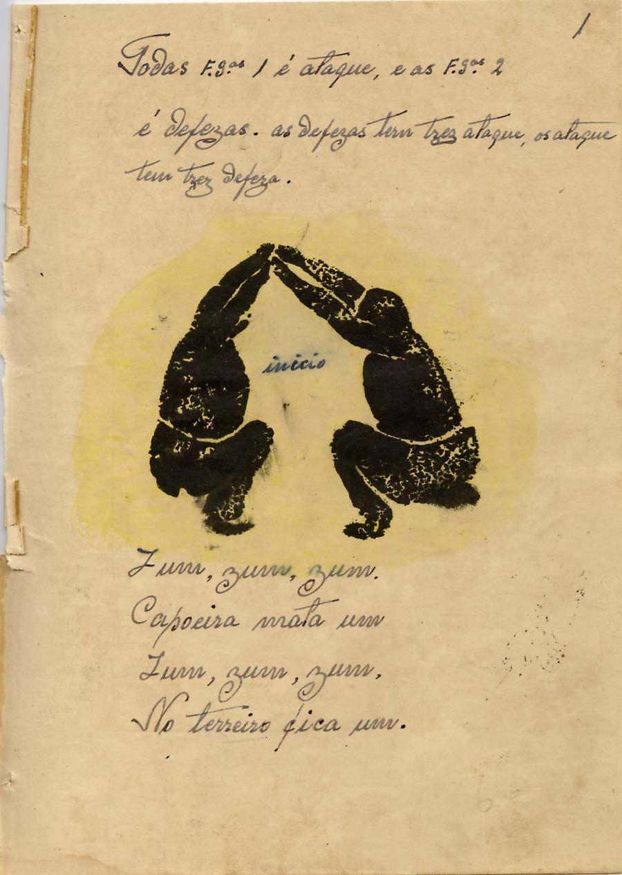Os Manuscritos Do Mestre Pastinha 004desenho01 A