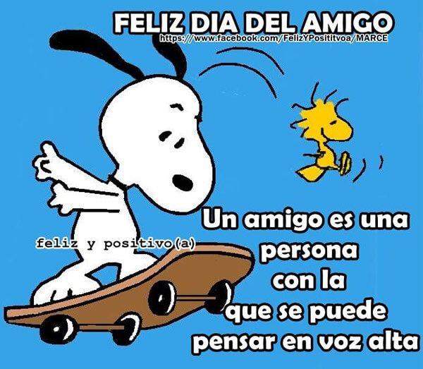 Snoopy Frases Buscar Con Google Dia Del Amigo Feliz Día De La Amistad Buen Dia Amigo